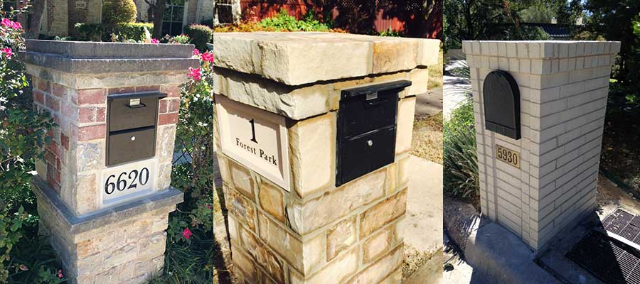 Find and save ideas about Brick mailbox