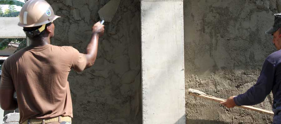 Stucco Work & Repairs Contractors
